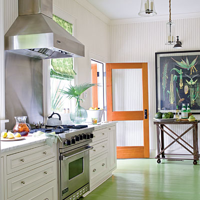 painted floors | cottage and bungalow