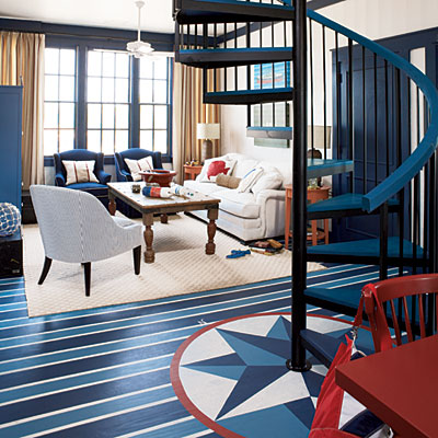 painted-floor-nautical-