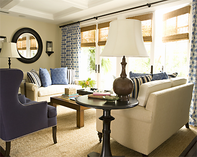 Hamptons Makeover Living Room