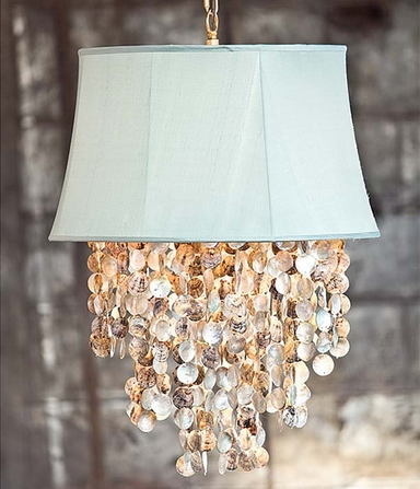 Shells chandelier coastal cool cottage bungalow if you want to make a grand gesture consider the lake buttermere grande chandelier this show stopper measures a whopping 37rd x 64h and features eight mozeypictures Image collections
