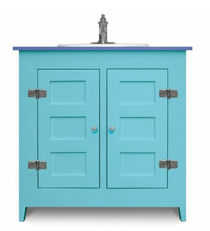 Colorful Bathroom Vanities From Cottage And Bungalow