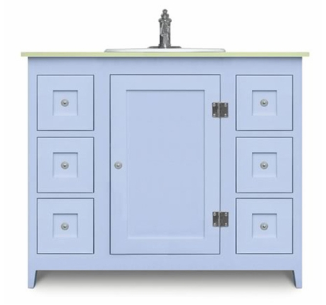 Colorful Bathroom Vanities From Cottage And Bungalow  Cottage And