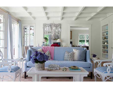 House Beautiful Names Blue America 39 S Favorite Color