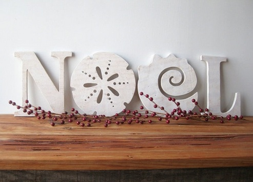 Noel sign by Cottage & Bungalow