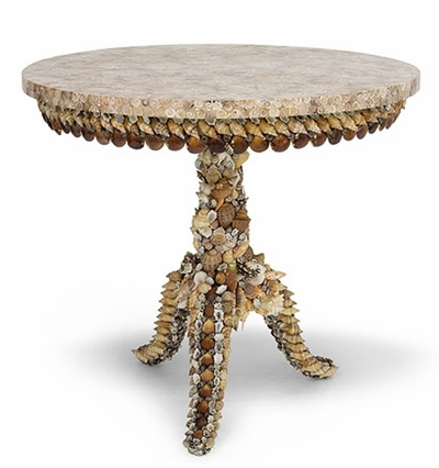 irene shell table