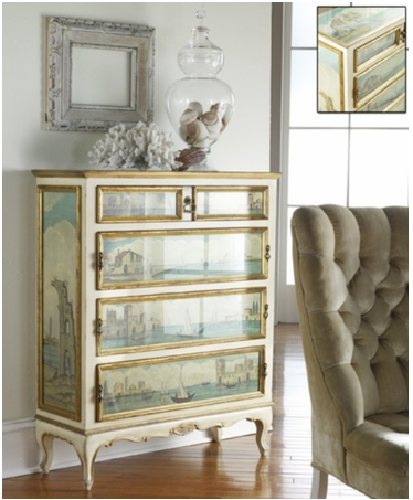 French inspired home furnishings
