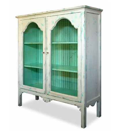 Weathered cabinet