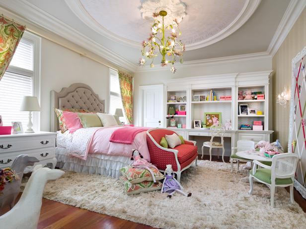 Girl's Room Designed by Candice Olson