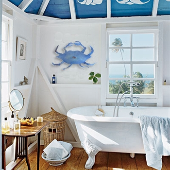 Styling a Beach House Bathroom