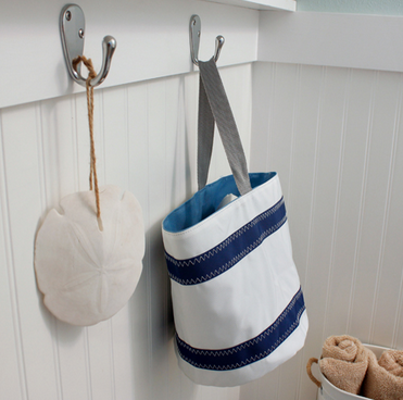 sailcloth bucket bag