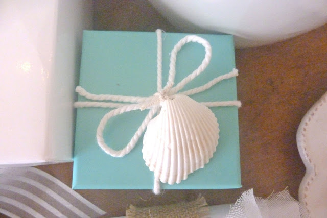 seashell wrapping