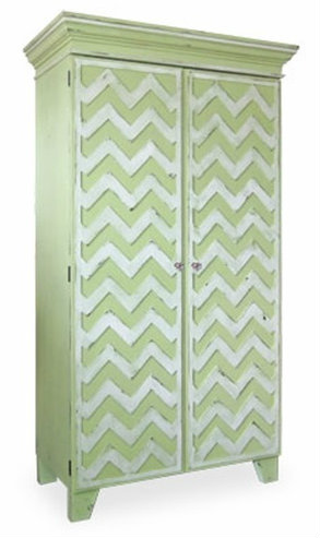 chevron patterns in home decor