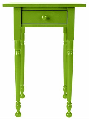 colorful end tables for coastal homes