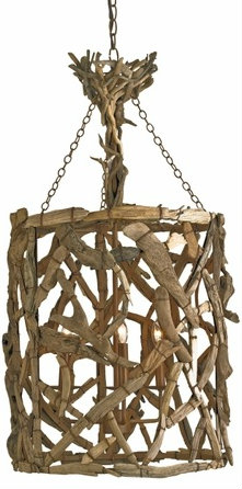 home decor made of real driftwood