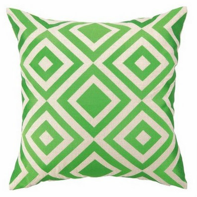 green accent pillows for coastal homes