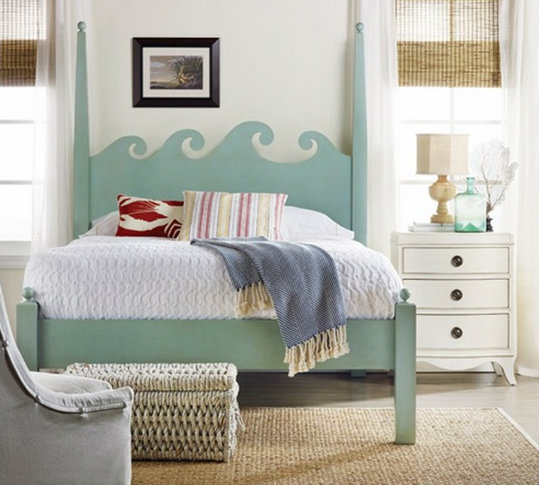 Beach Themed Bedroom Furniture: February's Pinterest Roundup