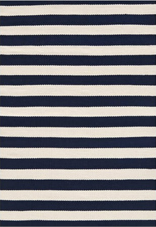 Blue Striped Carpet Runner Vidalondon