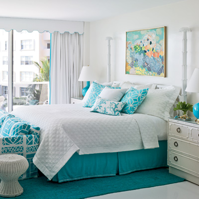 Infuse Your Coastal Home with Turquoise