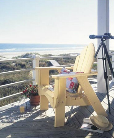 Seaside Adirondack Fanback Chair