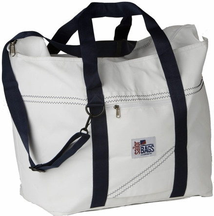 cottage and bungalow sailcloth tote