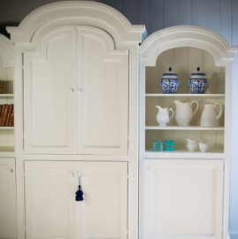 cottage and bungalow farmhouse cabinet